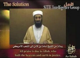 Osama Bin Laden video address to the American people – full transcript