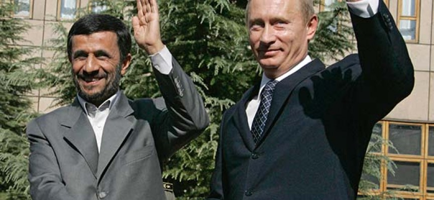 Putin and Ahmadinejad imply USA has no rights to launch military action against Iran