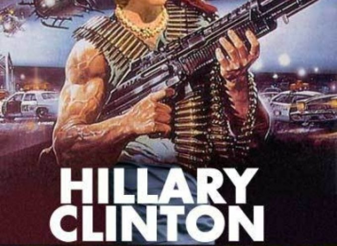 Hillary is the candidate of the military-industrial complex