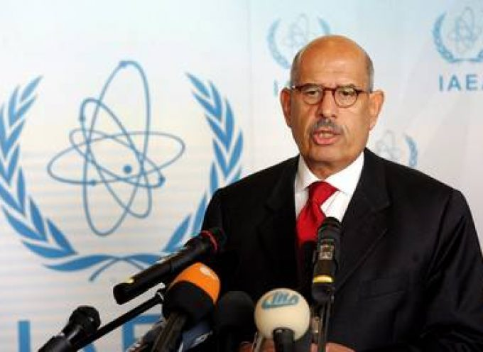 ElBaradei: No Evidence That Iran is Building Nuclear Weapons