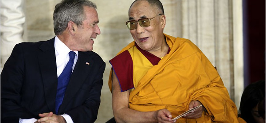 "Is the CIA behind the ""Free Tibet"" campaign?"