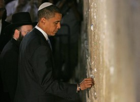 Obama's trip to Yad Vashem: What about Wounded Knee?