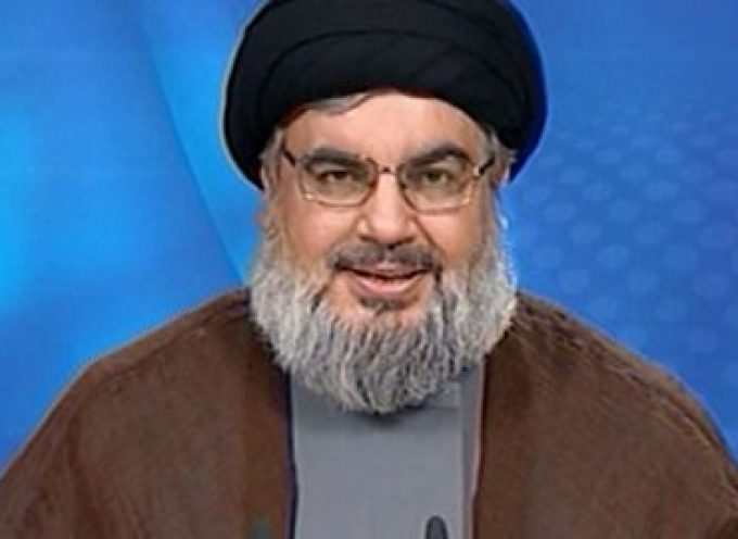 """Speech delivered by Hezbollah Secretary General Sayyed Hassan Nasrallah during the """"Dignity and Victory"""" Festival"""