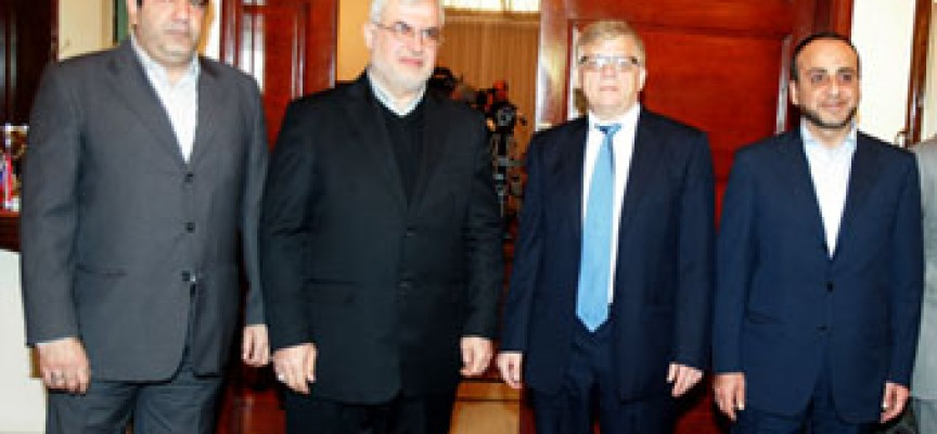 Russian and Hezbollah in consultations