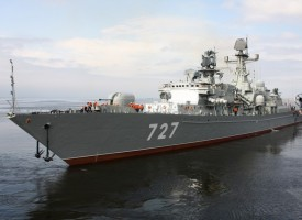 Russian warships set sail to Mediterranean amid possible Syria evacuation
