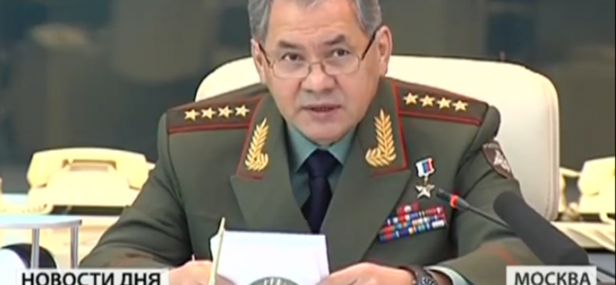"Russia: ""We are ready for dialogue"" Shoigu tells West to stop frightening their people"