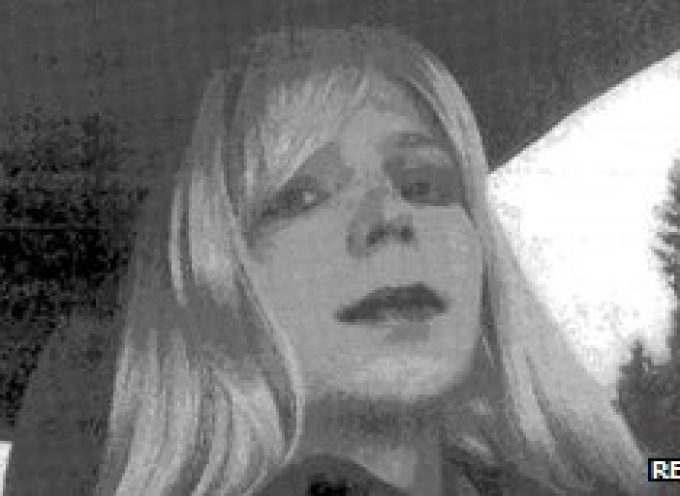 """Bradley Manning wants to be called """"Chelsea"""" and become a woman through hormony therapy"""