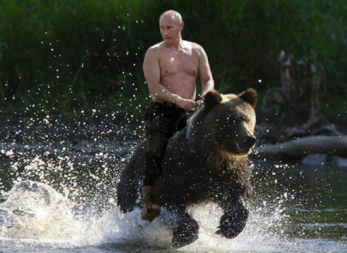 Putin is My Flunky (satirical essay)