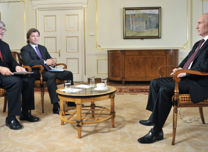 Interview to Channel One and Associated Press news agency (very interesting interview of Vladimir Putin)