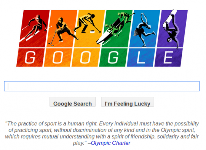 """In the meantime, Google engages is some """"oh so subtle"""" homo-propaganda"""