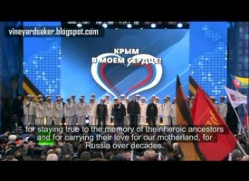 Celebration event in Moscow: Crimea – we are with you!