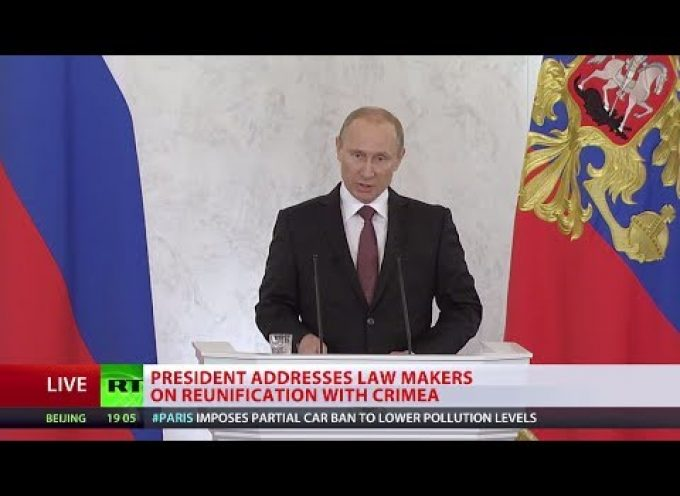 President Putin's speech to the Federal Assembly in English (MUST WATCH!)