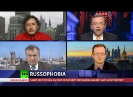 Yet another truly excellent CrossTalk, today about russophobia