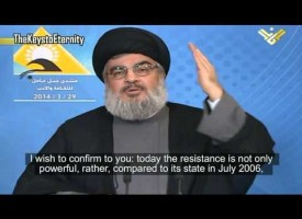 Hezbollah's Leader: 'Despite Syria war, Resistance stronger than ever' – (English Subtitles)