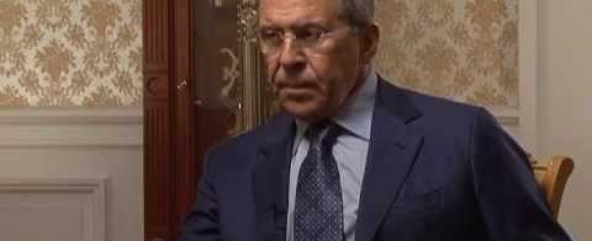 Foreign Minister Lavrov interviewed by Bloomberg