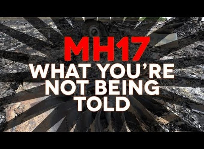Flight MH17 – What You're Not Being Told