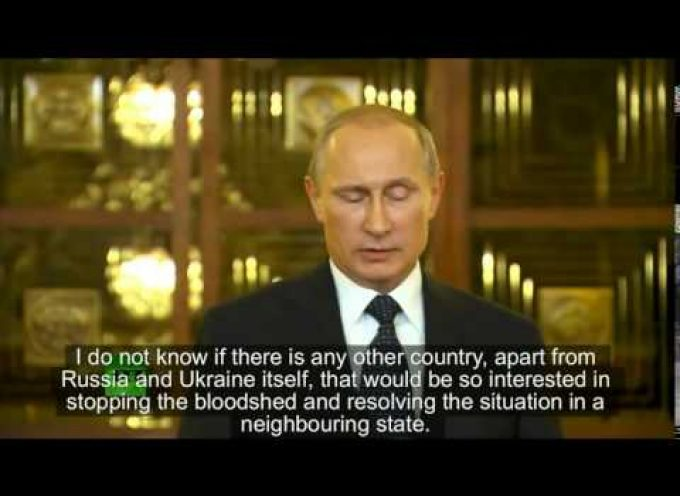 President Vladimir Putin Speaks: US Sanctions and Ukraine, July 2014