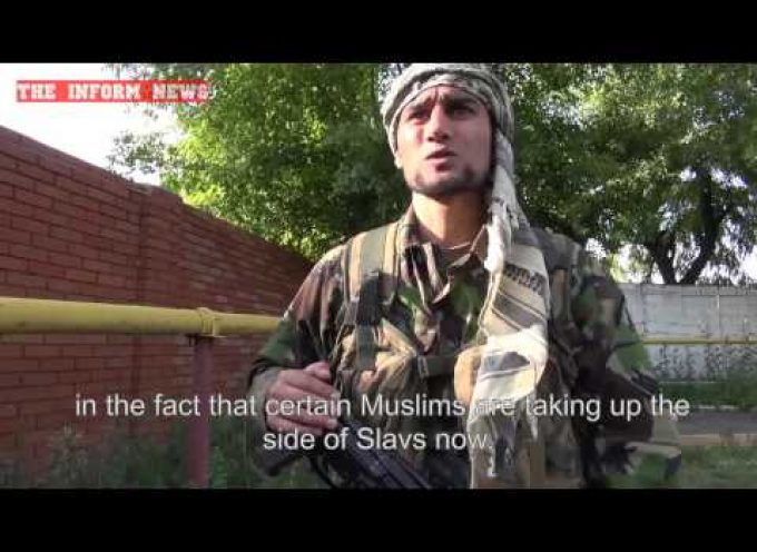 An Afghan Freedom Fighter in Donbass – ENG SUBS
