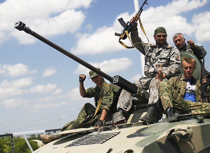 About US weapons deliveries and Novorussian mobilization plans