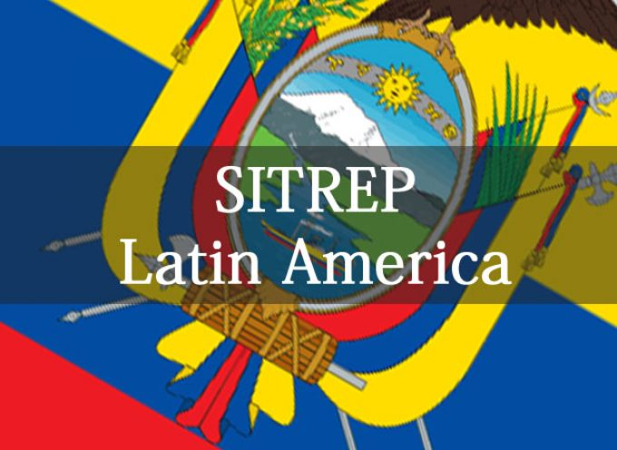 Latin America SITREP November 14th, 2015 by Jack