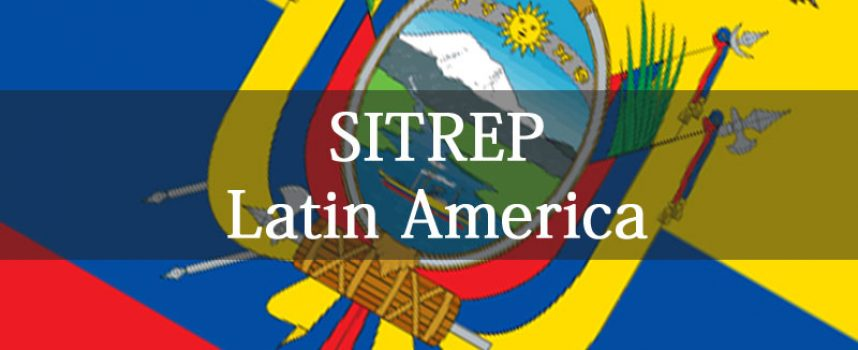 First Latin American SITREP