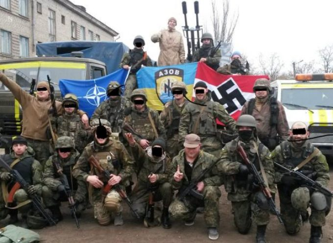 There are no Nazis in the Ukraine?