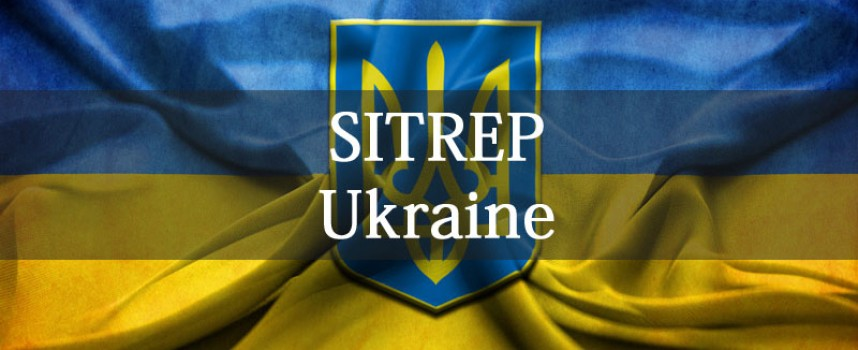 Ukraine SITREP + open thread