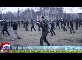 26.12.2014 Ukrainian crisis news. Latest news of Ukraine, Minsk, Russia, China