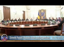 01.12.2014 Ukrainian crisis news. War in Ukraine, DPR, LPR, Novorossia.