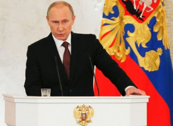 President Vladimir Putin addressed Russian Federation ambassadors and permanent envoys