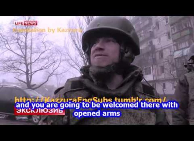 American baptist preaching fed to UAF soldiers discovered by Motorola [eng subs]