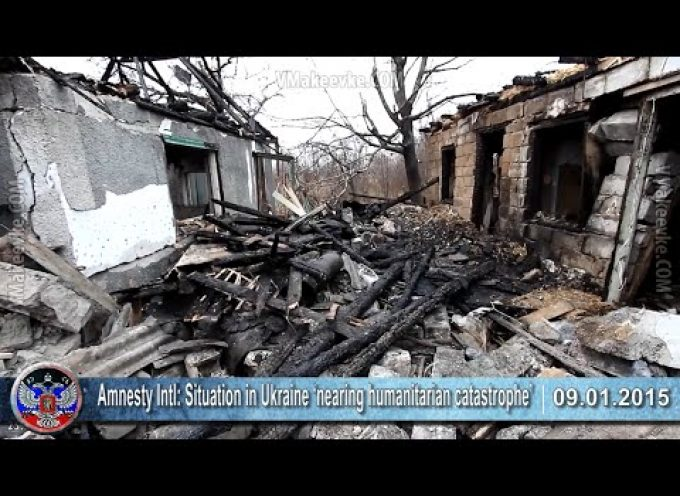 09.01.2015 Ukrainian crisis news. War in Ukraine, Europe, Russia, Donbass, USA