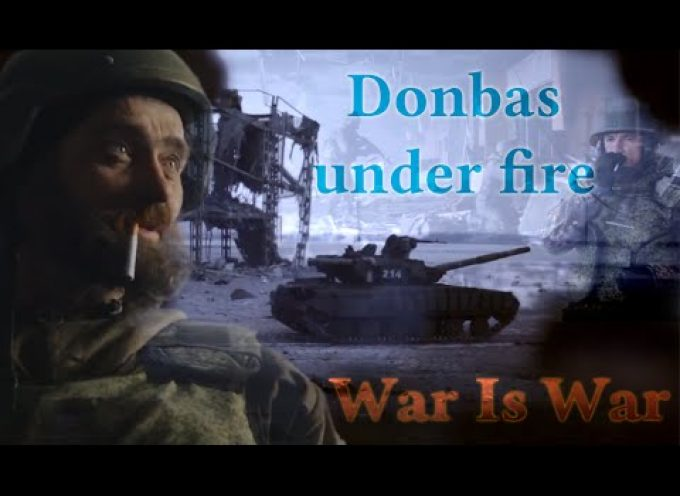 """Assault on the New Terminal combat footage 16-18 January """"Donbas under fire"""" documentary [eng sub]"""