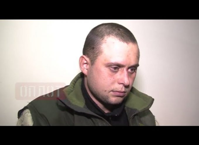 Another captive UAF 'cyborg' handed over to his parents by Alexandr Zakharchenko