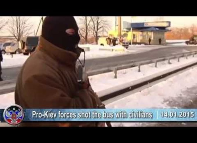 14.01.2015 Ukrainian crisis news. Latest news of Ukraine, #IAmVanya, Volnovakha, Donbass