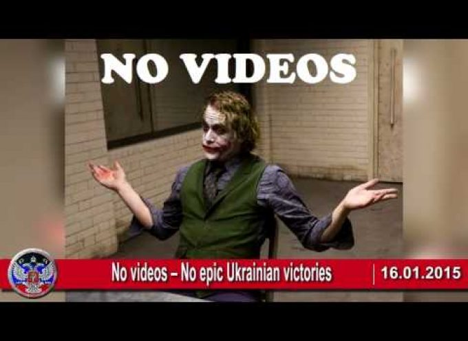16.01.2015 Ukrainian crisis news. Epic Urkainian victories, War in Ukraine