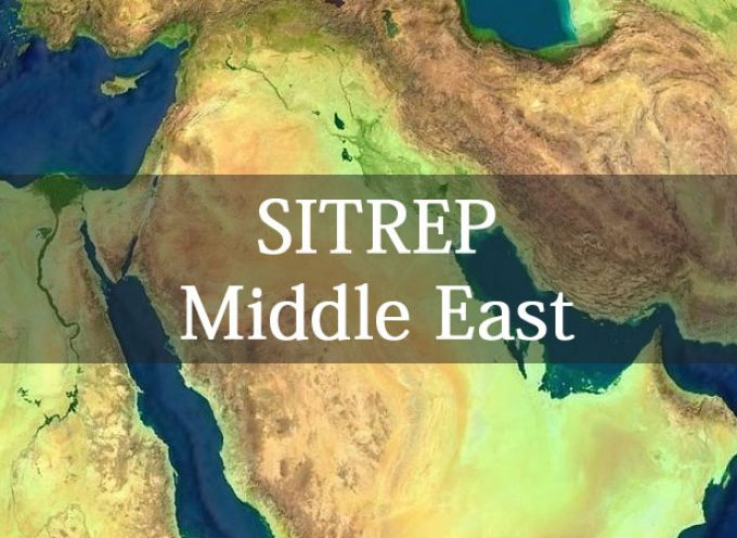 Syria and the Middle East SITREP October 18th, 2015 by John Rambo