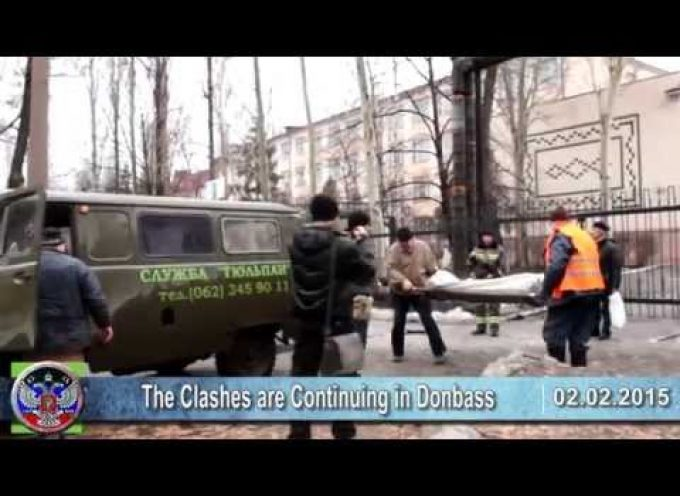 02.02.2015 Ukrainian crisis news. War in Ukraine, Donbass, Minsk, USA, Europe