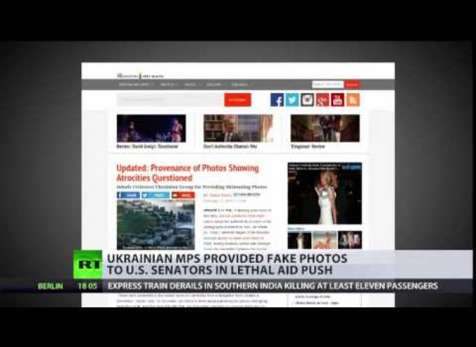 Busted: Kiev MPs try to fool US senator with 'proof' of Russian tanks in Ukraine