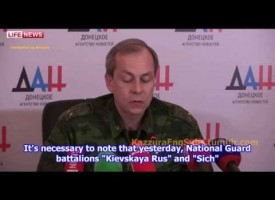 Ukrainian forces break ceasefire 1 hour after it has started