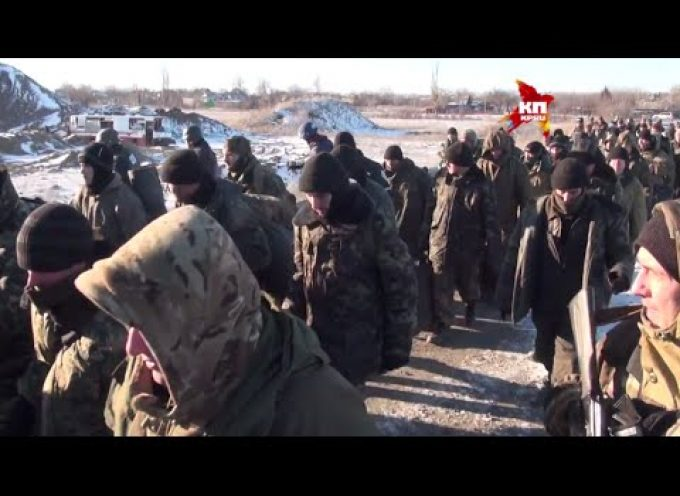 UAF squad surrenders at Debaltsevo 17/02/15