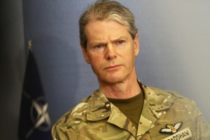 British Commander Land Forces Lieutenant General Sir Adrian Bradshaw
