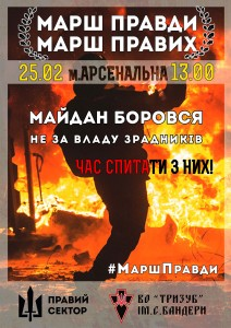 Right sector poster - плакат