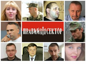Right Sector Party list