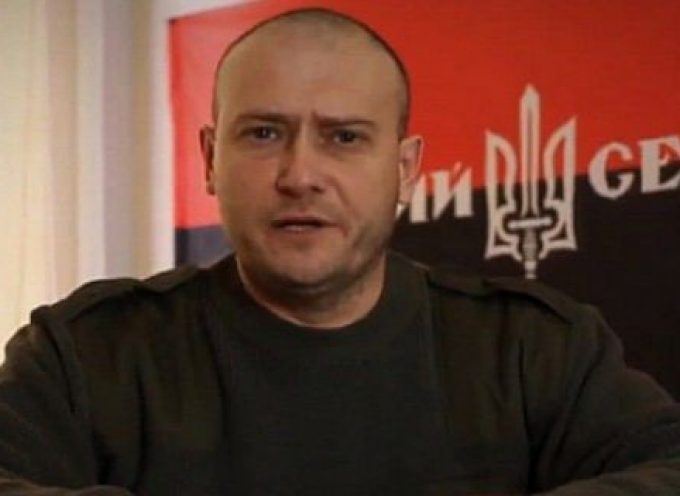 Ukraine's Right Sector Leader Wants Donbas Residents Deported