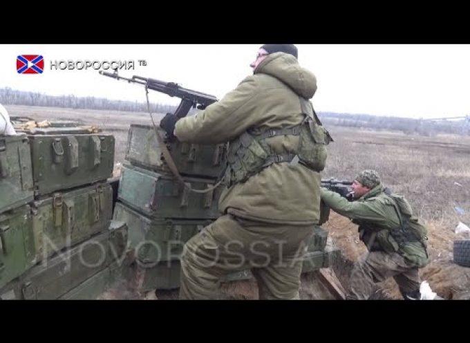 Report from Peski. Sniper duel and mortar/GL fire footage