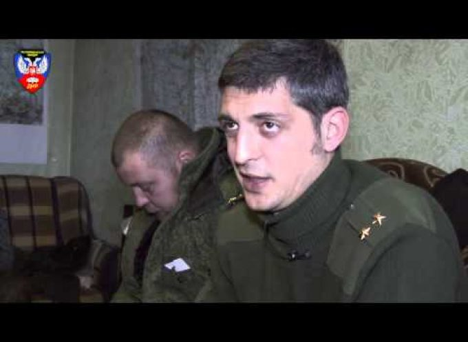 Militia Commander Givi about Minsk Agreements, ceasefire and work of OSCE (Eng. Subs)