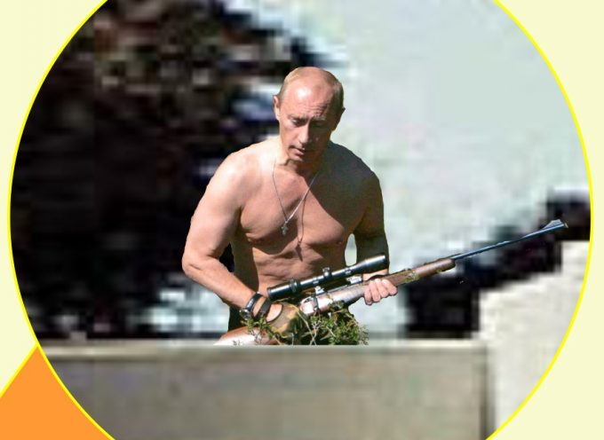 Putin's Whereabouts Confirmed at the Grassy Knoll!