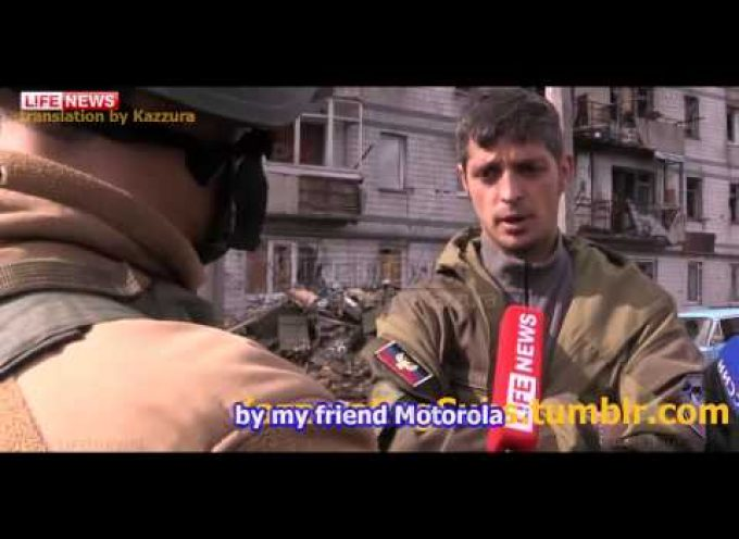 Givi's interview regarding the recent UAF attacks on Peski and Spartak
