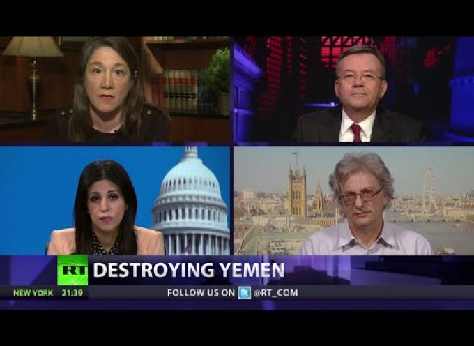 CrossTalk: Destroying Yemen